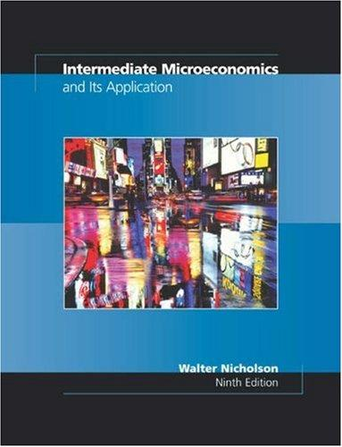 Intermediate Microeconomics and Its Application with Economic Applications Card