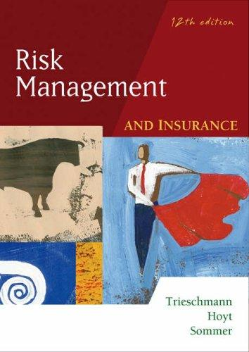 Risk management and insurance.