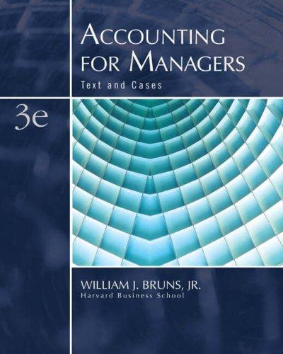 Download Accounting for managers