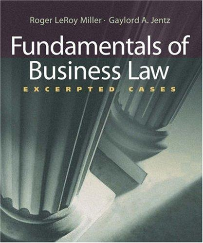 Download Fundamentals of Business Law