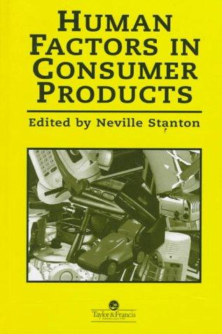 Download Human Factors In Consumer Products