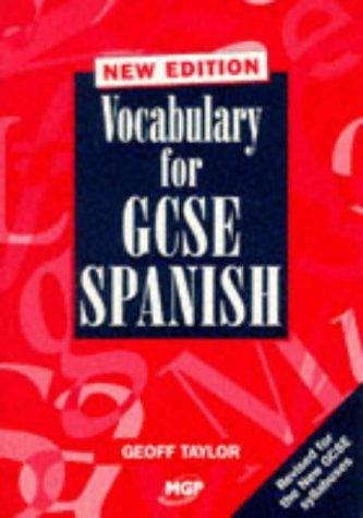 Download Vocabulary for GCSE Spanish