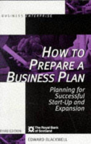 Download How to prepare a business plan