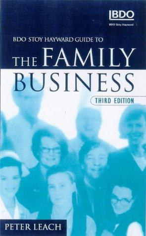 Stoy Hayward Guide to the Family Business