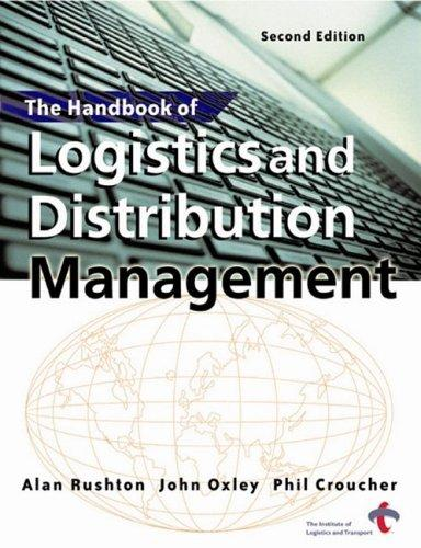 Handbook of Logistics and Distribution Management