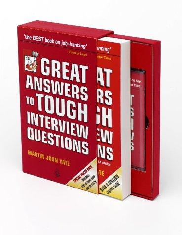 Download Great Answers to Tough Interview Questions (Book & Tape Slipcase Edition)