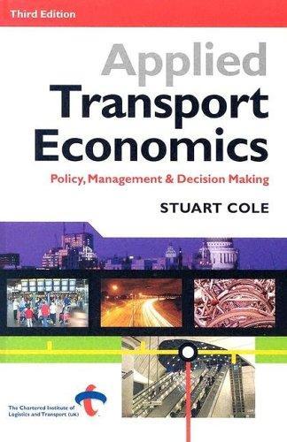 Download Applied Transport Economics