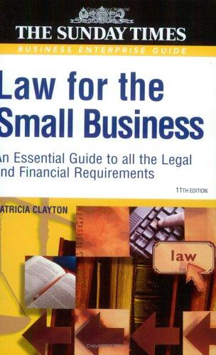 Download Law for the Small Business