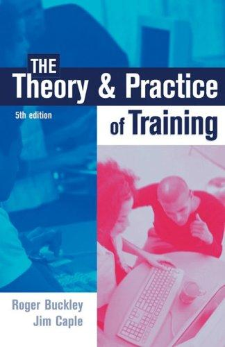 Download The Theory & Practice of Training