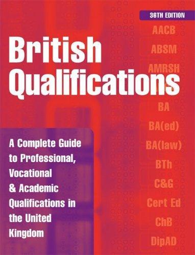 Download British Qualifications