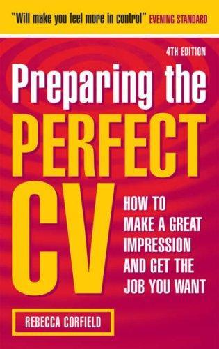 Download Preparing the Perfect CV