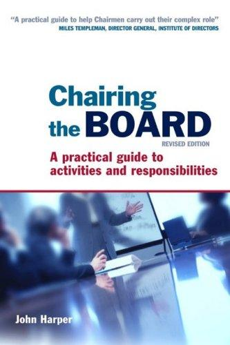 Download Chairing the Board
