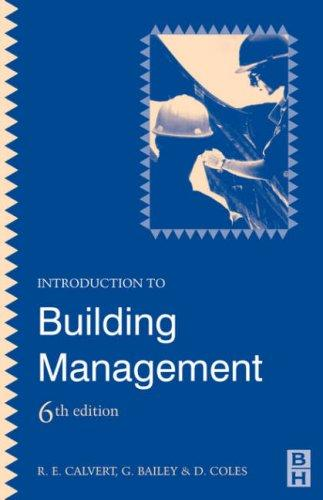 Download Introduction to building management