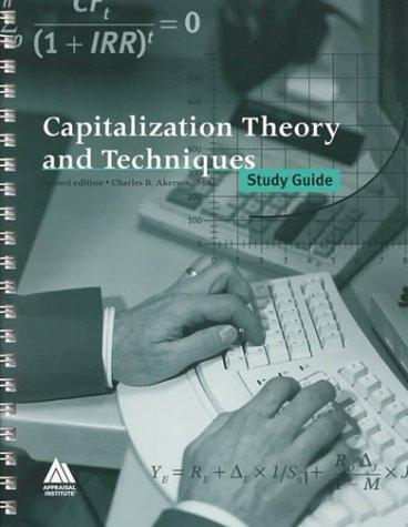 Capitalization theory and techniques