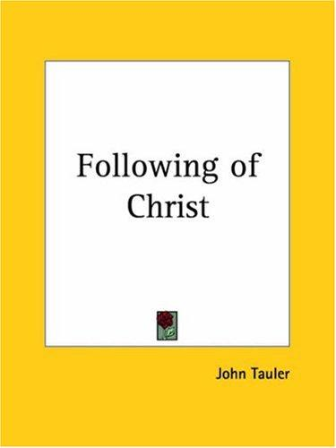 Following of Christ