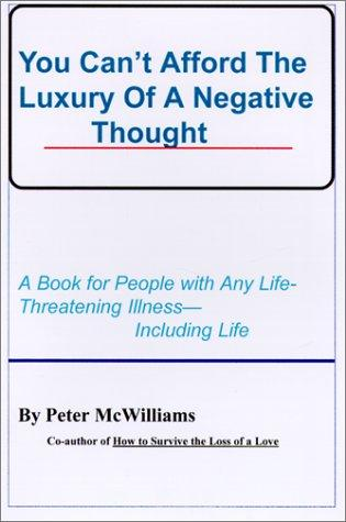 Download You Can't Afford the Luxury of a Negative Thought