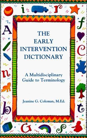 The early intervention dictionary