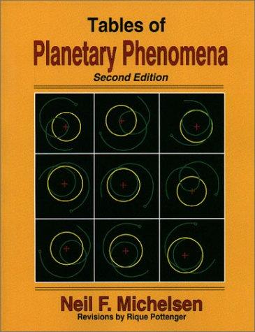 Download Tables of Planetary Phenomena