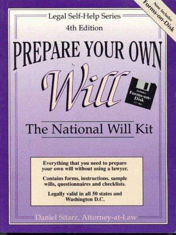 Download Prepare Your Own Will