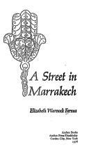 A street in Marrakech