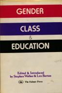 Gender, Class & Education