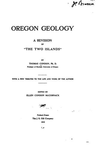 Download The two islands and what came of them.