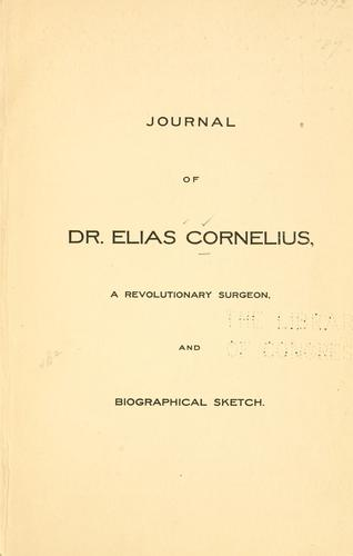 Download Journal of Dr. Elias Cornelius