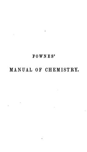 Elementary chemistry, theoretical and practical.