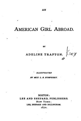 Download An American girl abroad