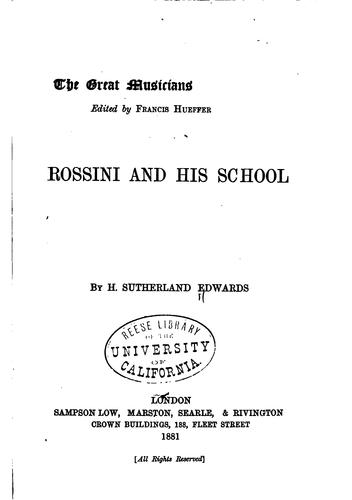 Rossini and his school
