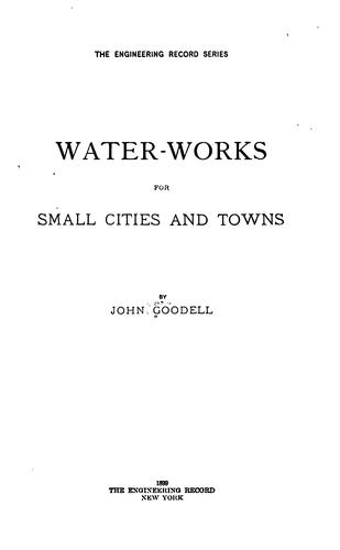 Download Water-works for small cities and towns