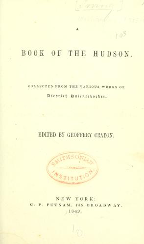 Download A book of the Hudson.