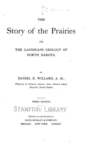 Download The story of the prairies