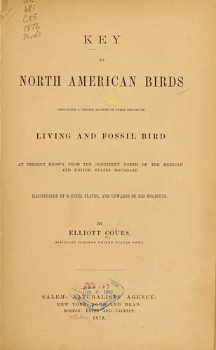 Download Key to North American birds