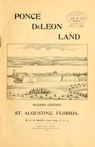 Download Ponce de Leon land.