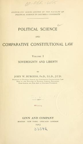 Download Political science and comparative constitutional law …