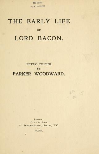Download The early life of Lord Bacon