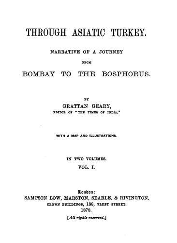 Download Through Asiatic Turkey.