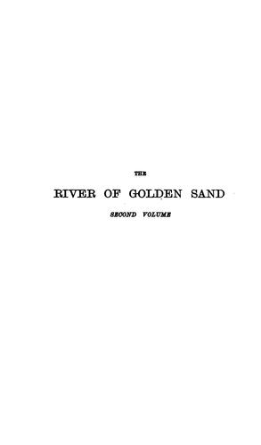 The river of golden sand.