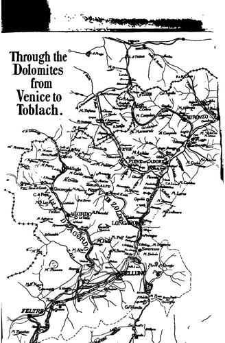 Download Through the Dolomites from Venice to Toblach