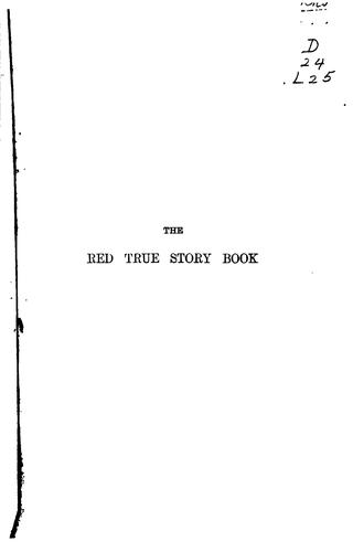 Download The red true story book