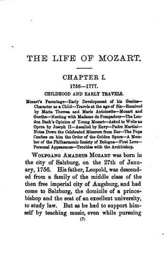 Download Life of Mozart