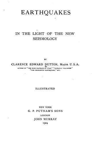 Download Earthquakes in the light of the new seismology