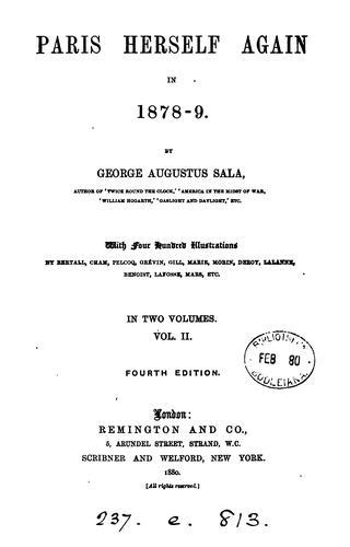 Download Paris herself again in 1878-9.