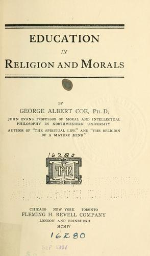 Education in religion and morals.