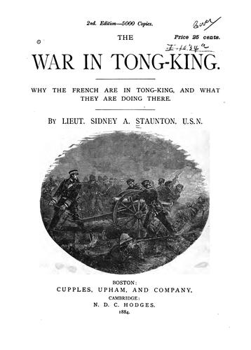 Download The war in Tong-king.
