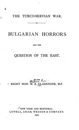 Download Bulgarian horrors and the question of the East.
