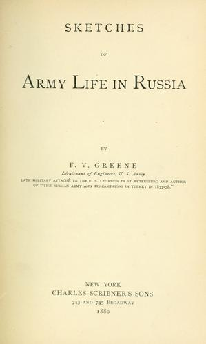 Download Sketches of army life in Russia