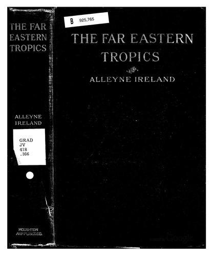 The Far Eastern tropics