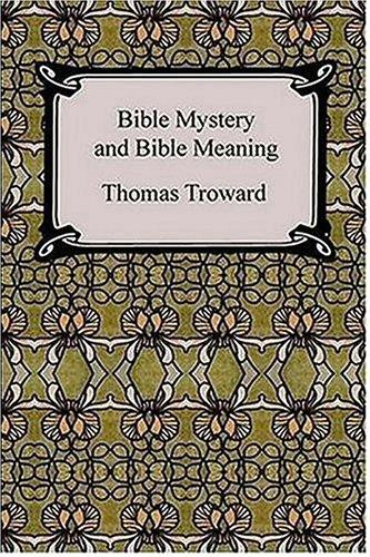 Bible Mystery and Bible Meaning